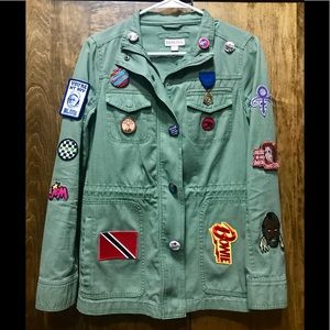 One of a Kind Pop Culture Patch Jacket
